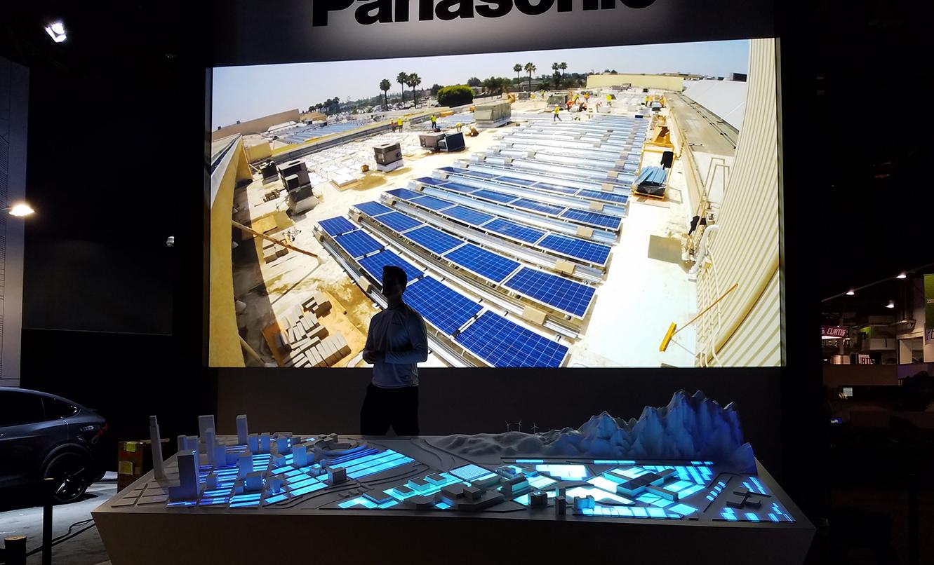 Panasonic CES Diorama