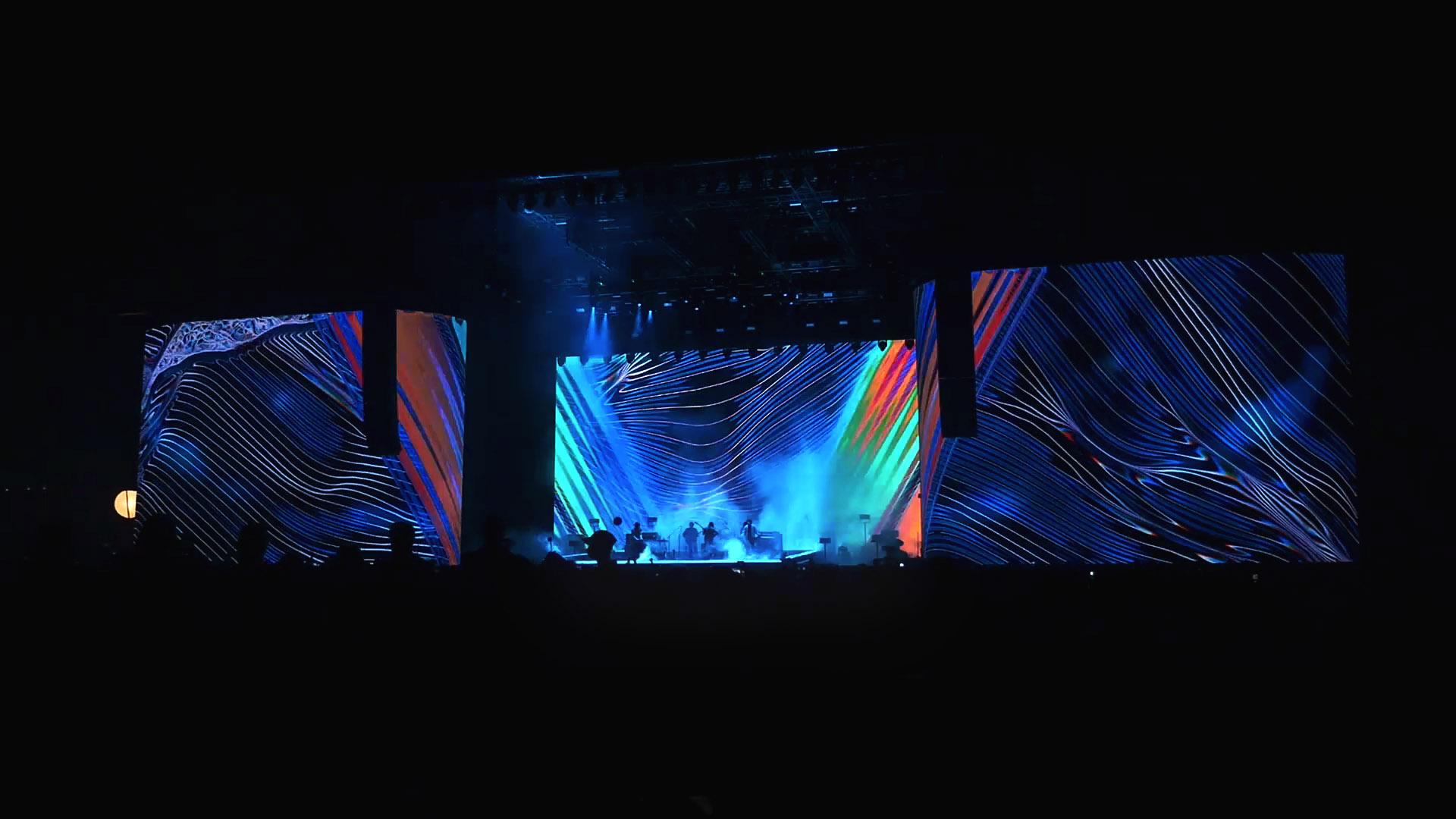 Tame Impala Visuals Panorama Music Festival 2017
