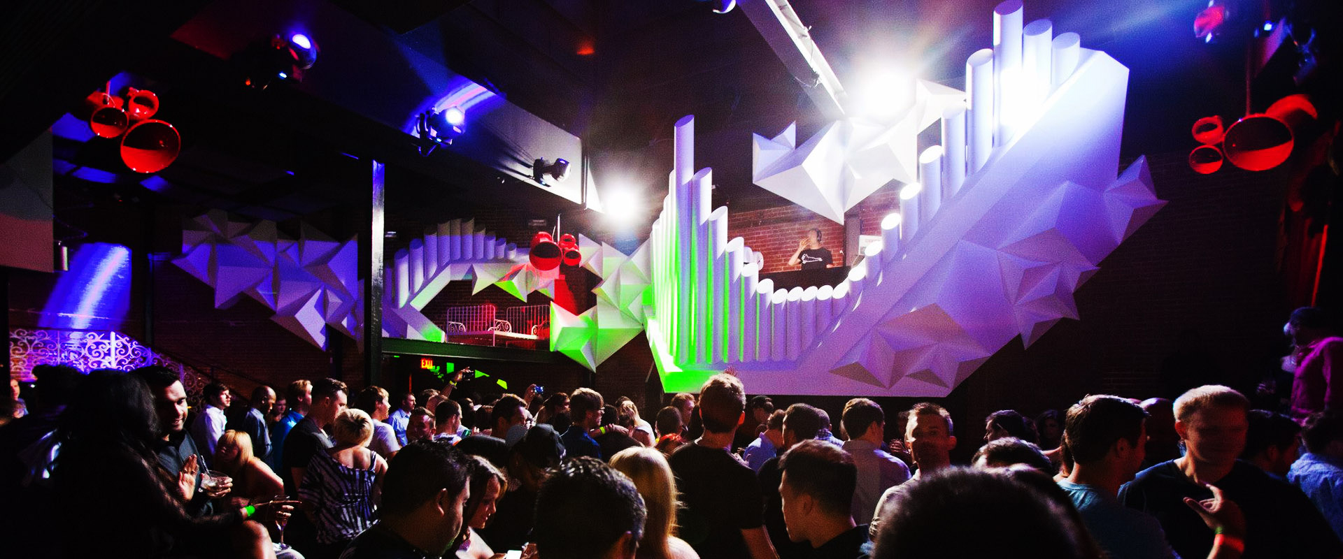 X Nightclub Projection Mapping