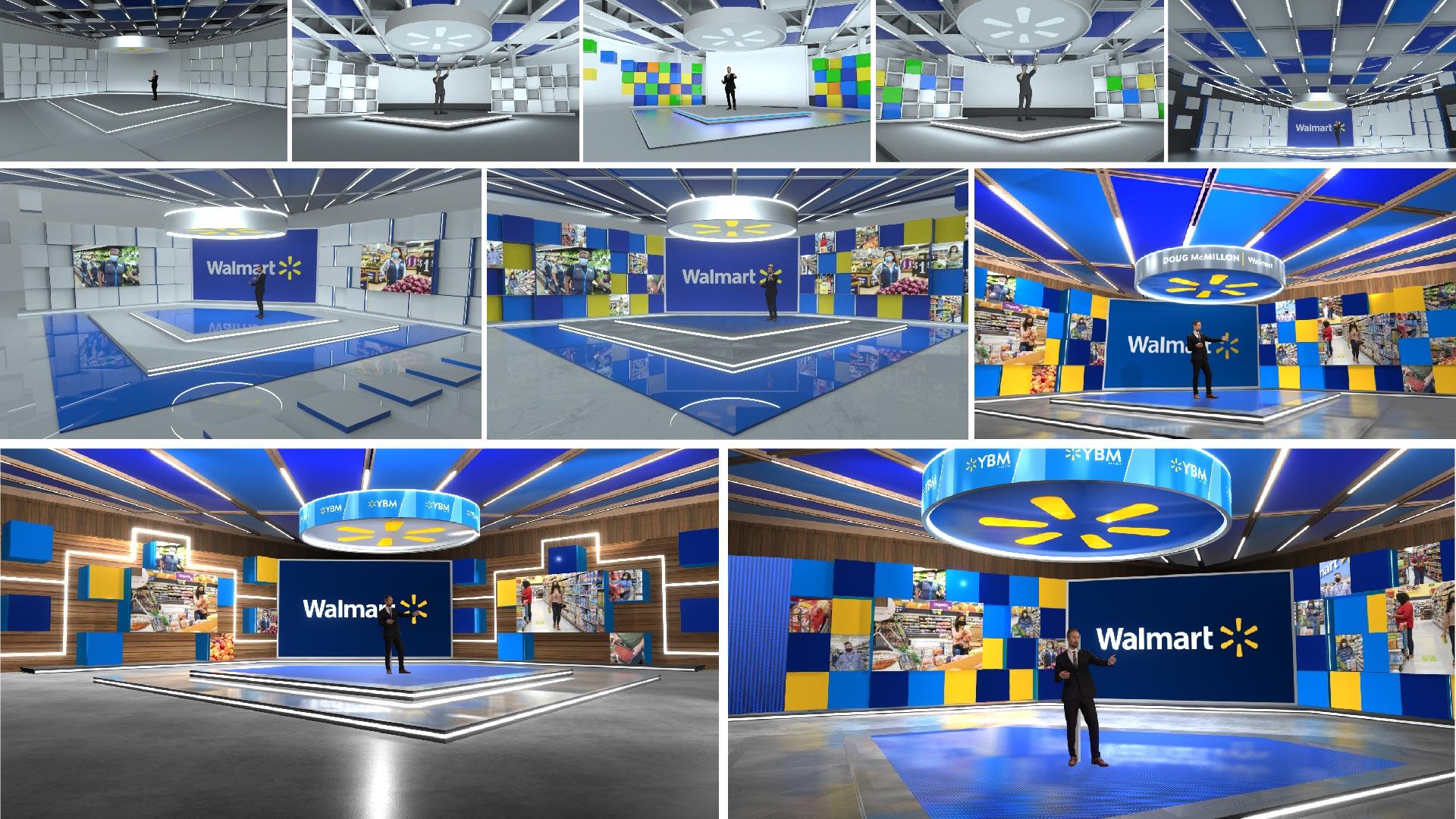 Walmart Corporate Presentations in xR